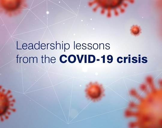 Leadership Learnings from the COVID Crisis