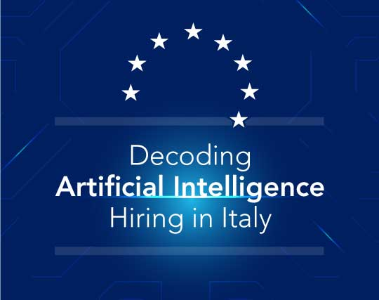 Decoding Artificial Intelligence Hiring in Italy