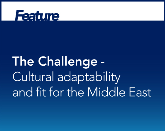 Cultural Adaptability and Fit for the Middle East