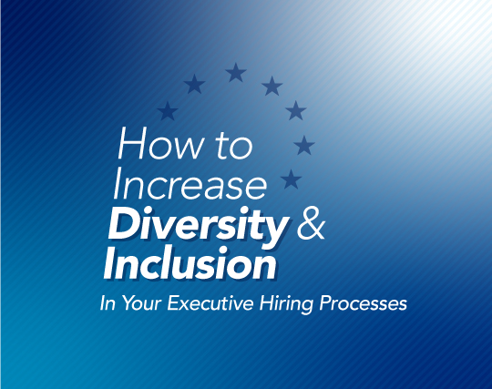How to Increase Diversity and Inclusion