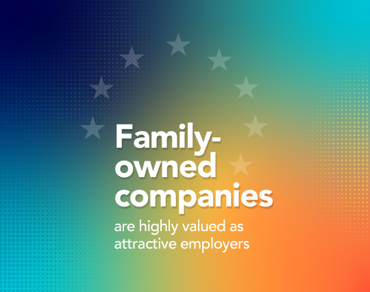 Family-owned companies are highly valued as attractive employers