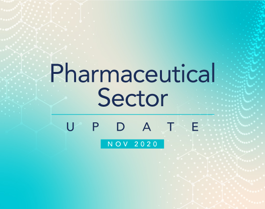 Pharmaceutical Sector Update – November 2020