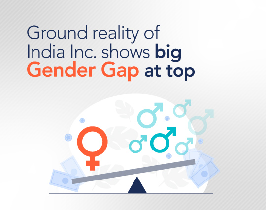 Ground reality of India Inc. shows big gender gap at top